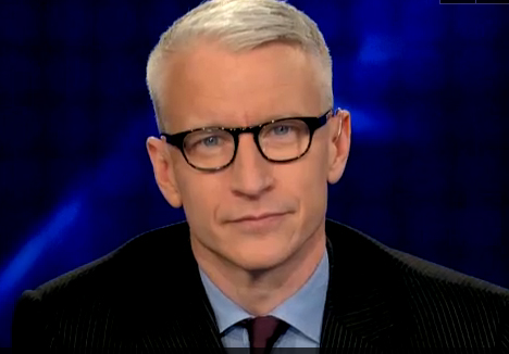 Anderson Cooper with glasses