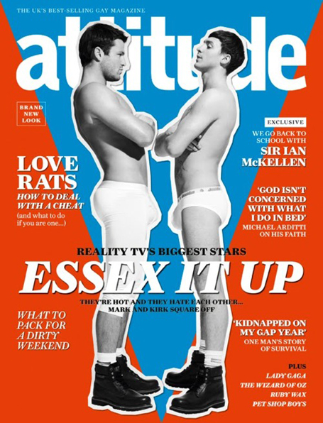 February 8, 2011 Posted in: QUEER CAPTION! Attitude magazine march issue