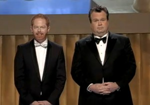 Watch Jesse Tyler Ferguson And Eric Stonestreet Sing At The WGA Awards