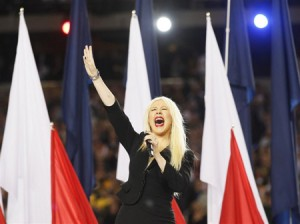 Christina Aguilera On Her National Anthem gaffe