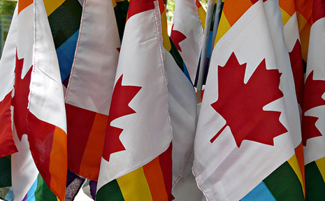gay flags canada