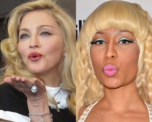Madonna Has Been Puckering Up With Nicki Minaj