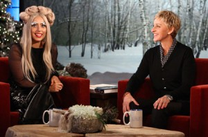 Lady Gaga On The Ellen DeGeneres Show