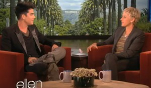Adam Lambert discusses what went down with his boyfriend in Finland On The Ellen Show