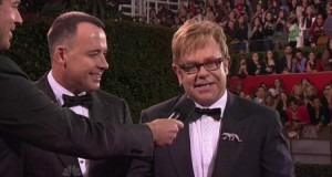 Elton John Drops F-bomb During Golden Globes Red Carpet