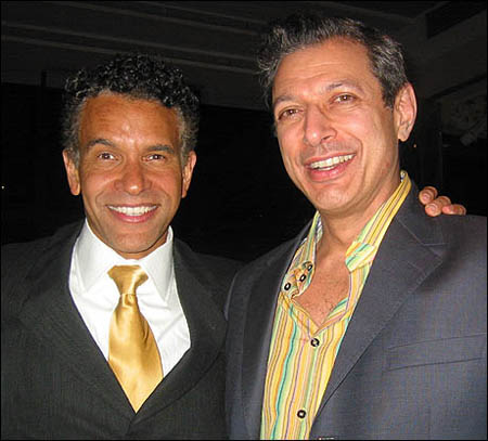 Jeff Goldblum and Brian Stokes Mitchell