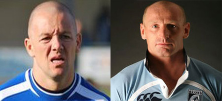 Lee Steele and Gareth Thomas