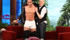 Mario lopez has a new line of underwear coming out, and who better to model...