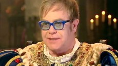 The Elton John/Madonna feud is back on. The British singer will play an imperious monarch...