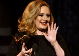 Adele Takes Home 6 Grammy Awards, Including Record of the Year, Album of the Year and Song of the Year