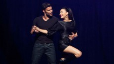 "Naya Rivera and Ricky Martin Performed 'La Isla Bonita' on last night episode of 'Glee""...."