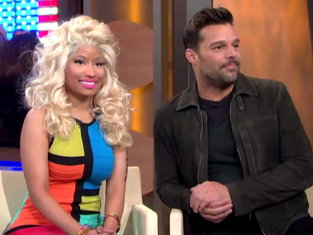 Ricky Martin and Nicki Minaj