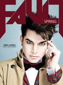 Adam Lambert Covers Fault Magazine