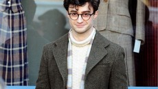 Images of Daniel Radcliffe as gay Beat poet Allen Ginsberg in the film Kill Your...