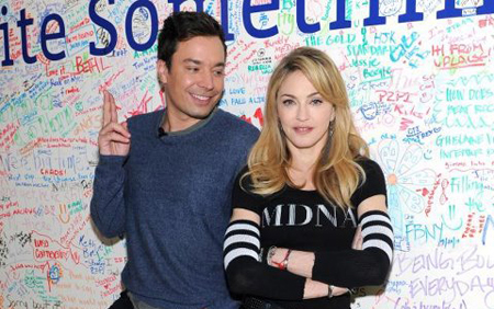 Madonna Jimmy Fallon2