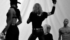 Here are some images of Madonna with a revolver… directly from the rehearsals of Madonna's...