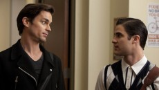 TV Line has published the first image of openly gay actor Matt Bomer and Darren...