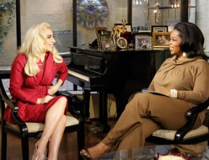 Lady GaGa and her mother Cynthia Interview on Oprah's Next Chapter