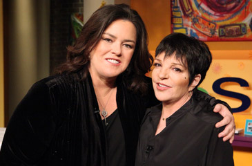 liza minnelli and rosie