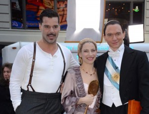 Ricky Martin & the 'Evita' cast perform on 'Good Morning America'
