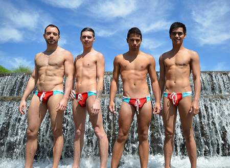 MR. GAY New Zealand wins the individual Sports Challenge