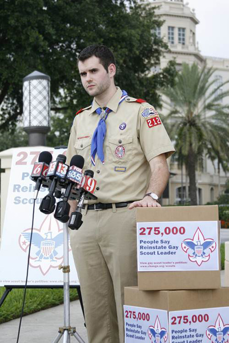 Boy Scouts of America To Review Ban On Gays The Boy Scouts of America ...