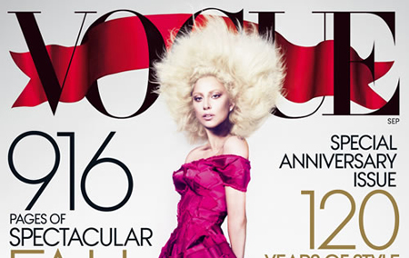 Lady Gaga Covers 'Vogue' September issue3