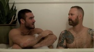 Jessy Ares' Bath Tub Interview with Mike Enders from Accidental Bear