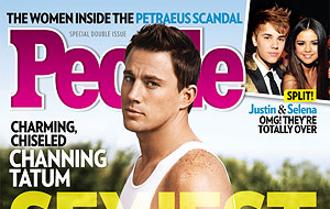 Channing Tatum named 2012's sexiest man alive by People