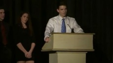 Meet Jacob Rudolph, 18, a brave teen who came out as LGBT in a speech...