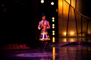 "Cirque du Soleil 'Zumanity' Reveals New Character ""Scottish Fantasy"""