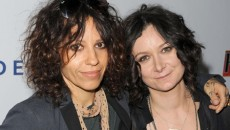 "In Today's episode of ""The Talk"" Host Sara Gilbert announced she is engaged to girlfriend..."