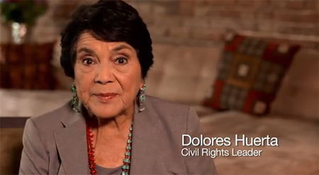 the life and contributions of the american labor leader dolores huerta