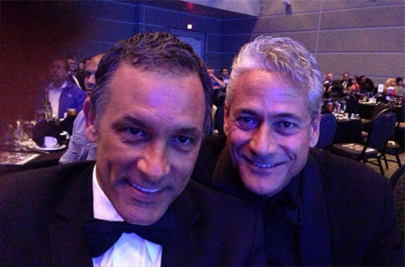 Greg Louganis and Johnny Chaillot2