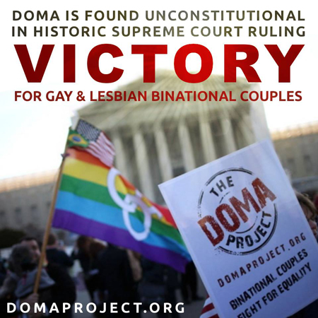 The DOMA Project Victory