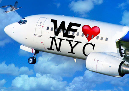 WE Party AIRLINES Flies Into New York City1