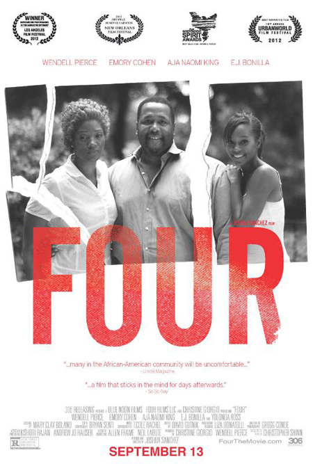 provocative film four sheds light on black men on the. Black Bedroom Furniture Sets. Home Design Ideas