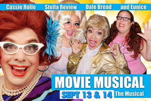 Movie Musical: The Musical returns Sept 13 & 14 starring Aunt Cassie Rolle‏