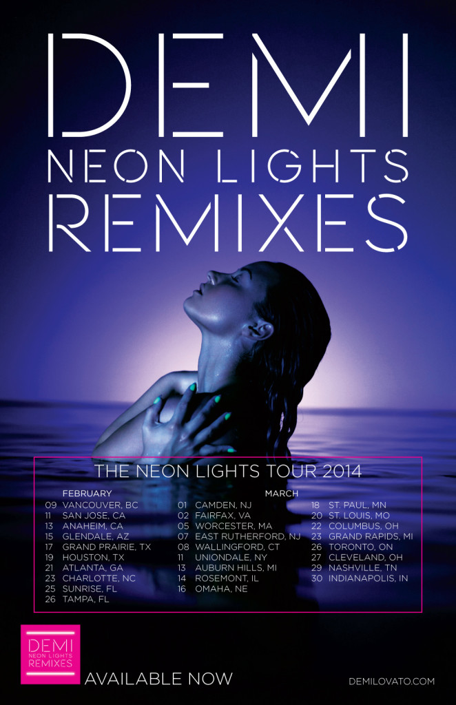DemiLovato_NeonLights_dates