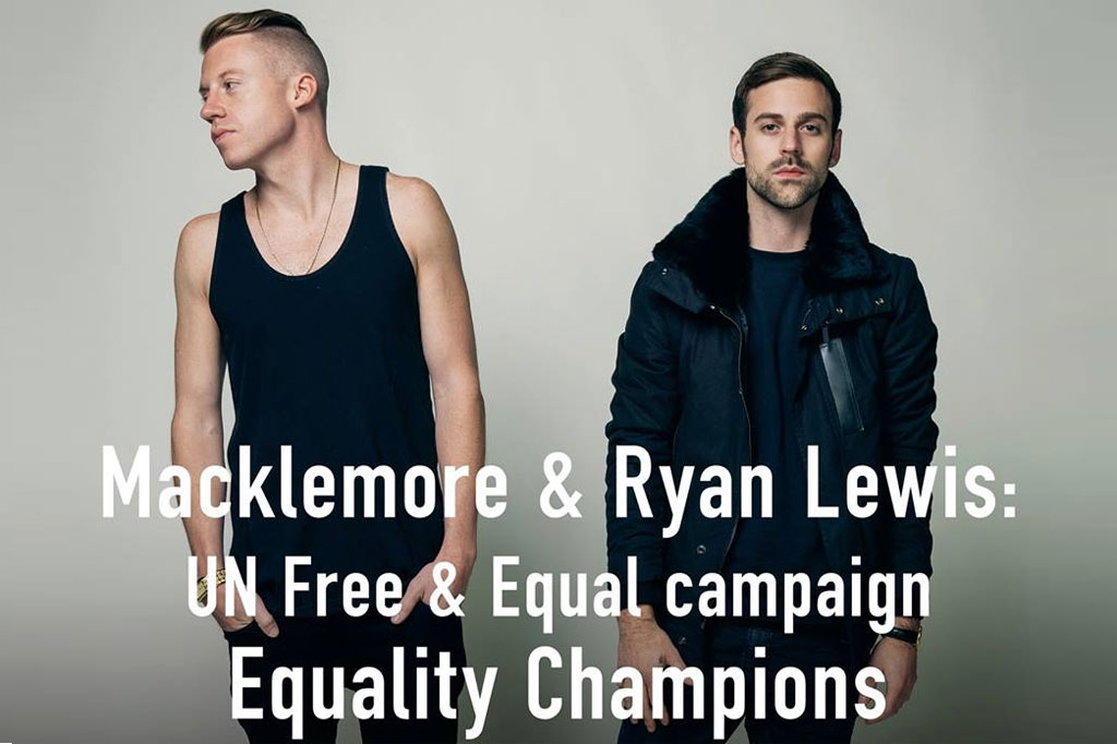 political and social statements in musical pieces by the hip hop duo macklemore and ryan lewis Macklemore and ryan lewis: 'systemic racism isn't going to get clicks' unrest in ferguson led the duo to question their role in hip-hop the result was white privilege ii, an examination of.
