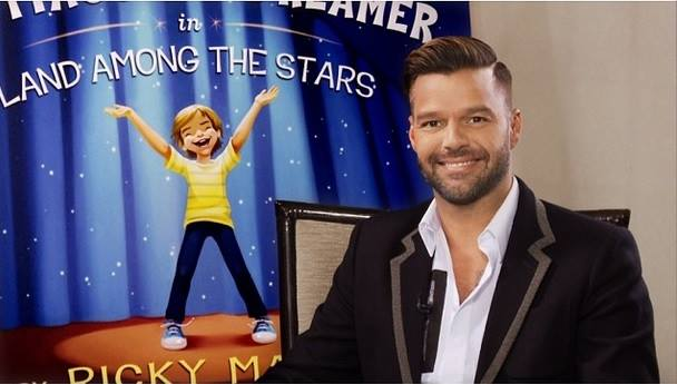 Ricky Martin at Barnes & Noble Tribeca