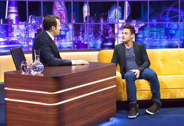 Tom Daley Discusses Coming Out And His Boyfriend On The Jonathan Ross Show