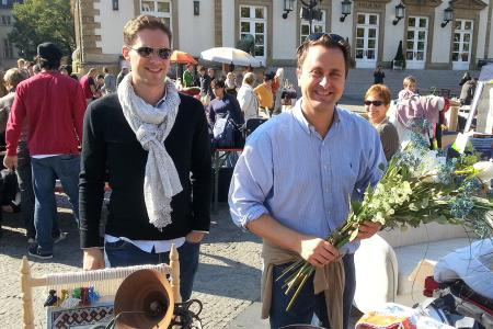 xavier bettel and destenay gauthier