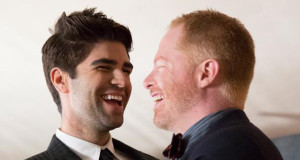 Jesse Tyler Ferguson and his husband Justin Mikita are Out For Freedom