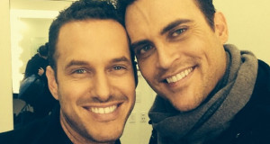 Cheyenne Jackson engaged to marry Landau