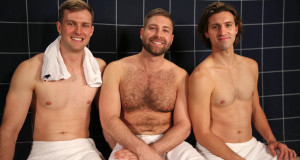 Johnny Scruff drops by the steam room