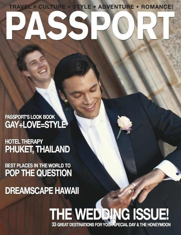 Passport Magazine May Cover