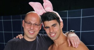 Boy Bunnies in the Steam Room for Easter‏