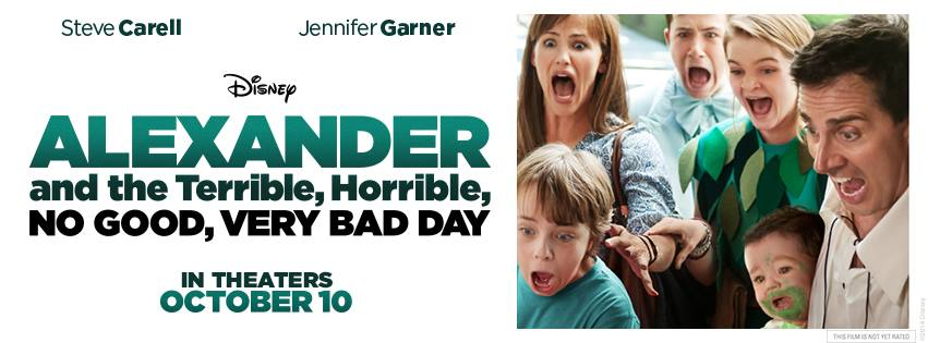 Alexander and the Terrible, Horrible, No Good, Very Bad Day banner