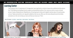 Suddenly Fem™ Crossdressing Clothing Line Debuts Tips and Tricks Resource Center for Transgender Community Education